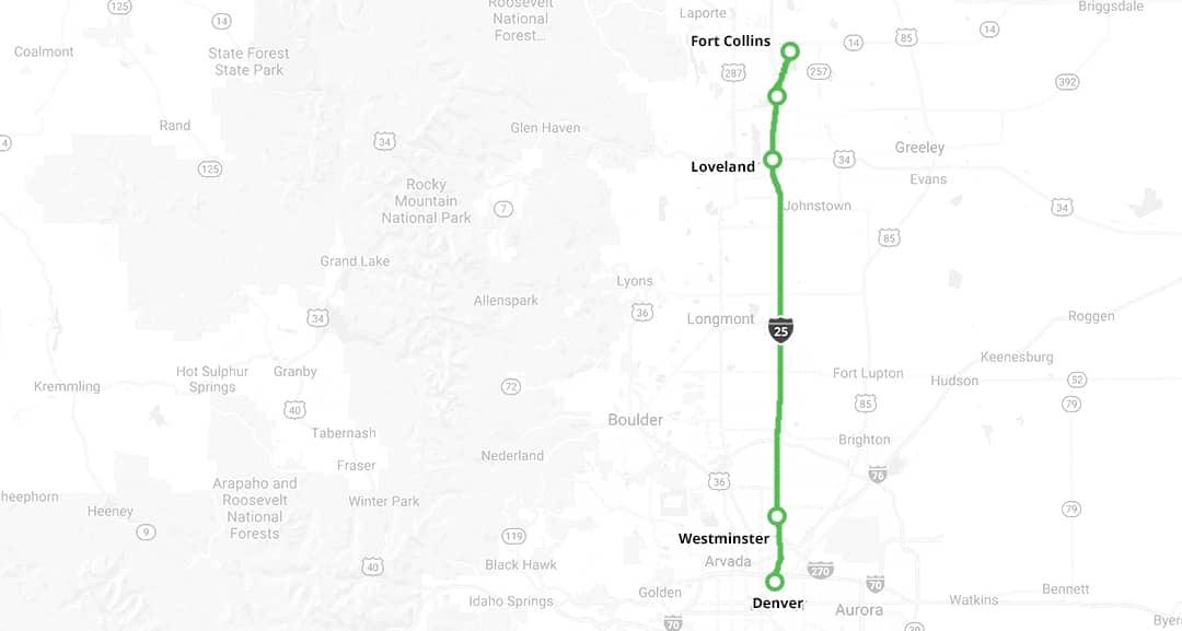 Bustang Routes | Denver Bus | Colorado Springs Bus Routes | Bustang